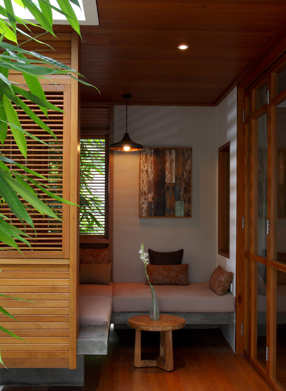 Day Bed - Villa Sarang Bambu