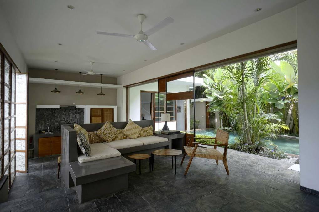 Living Room - Villa Sesapi Downstair